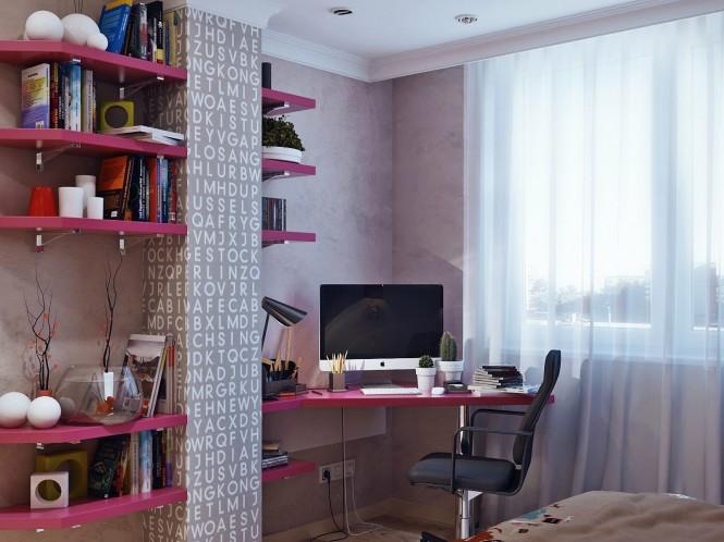 decoracion habitaciones para niña adolescente