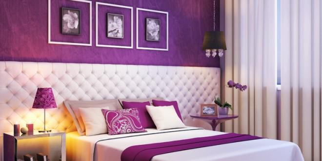 decoracion mi cuarto en violeta | Hoy LowCost