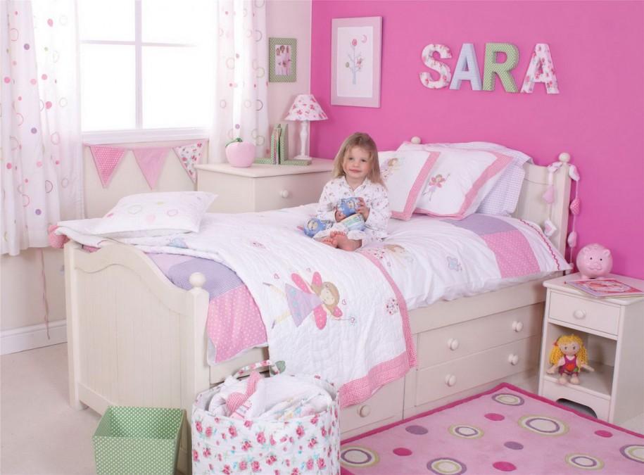 decoracion personalizada cuarto niña