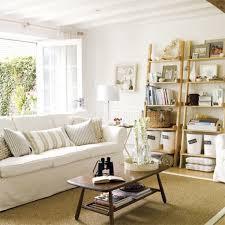 decoracion salones pequeños en blanco