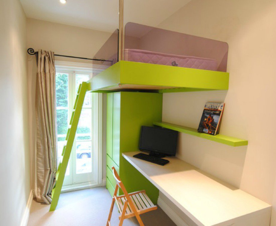 Decorar habitacion juvenil muy peque a hoy lowcost - Como decorar una habitacion pequena juvenil ...