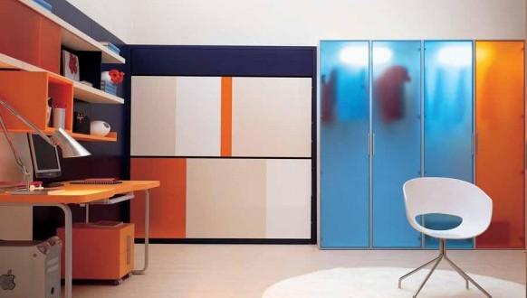Dise o camas ni os abatibles espacios peque os hoy lowcost for Diseno de espacios pequenos