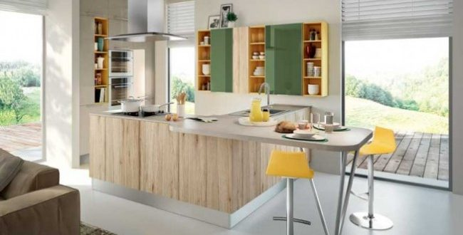 diseño cocina moderna pequeña | Hoy LowCost