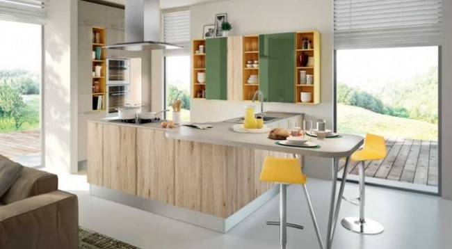 Cocinas modernas peque as estilos y dise os hoy lowcost for Cocinas de diseno precios
