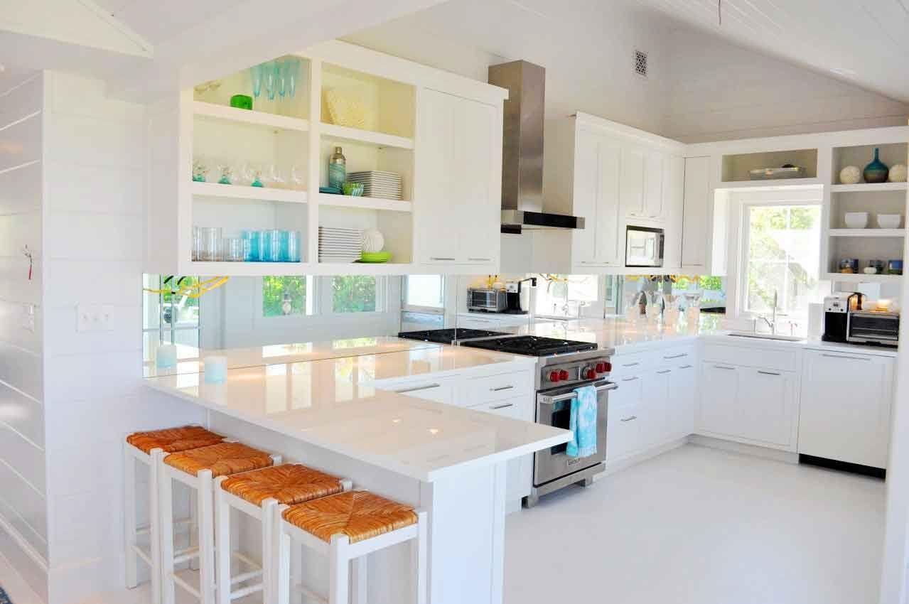 diseño cocinas en blanco