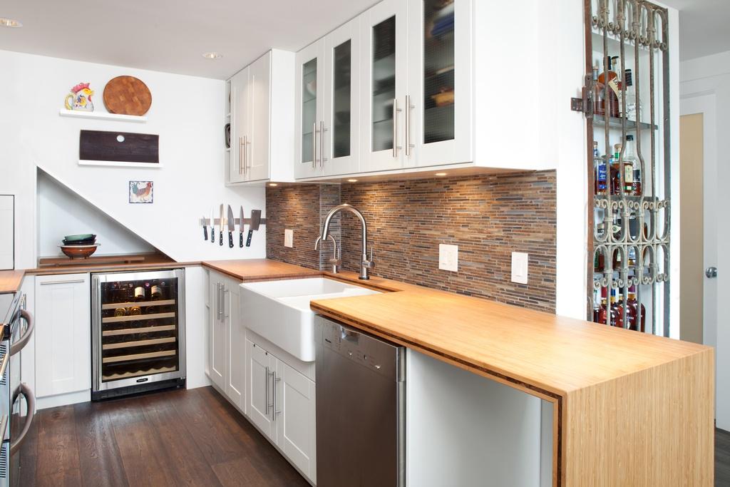 Cocinas modernas peque as estilos y dise os hoy lowcost for Diseno de interiores de cocinas pequenas modernas