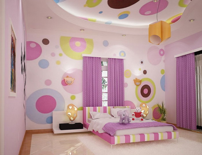 diseño cuartos para niña