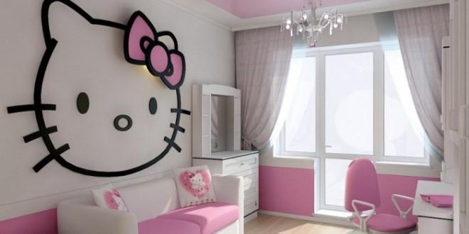 Dise o de pared para dormitorios de ni as hoy lowcost for Disenos para decorar paredes de dormitorios