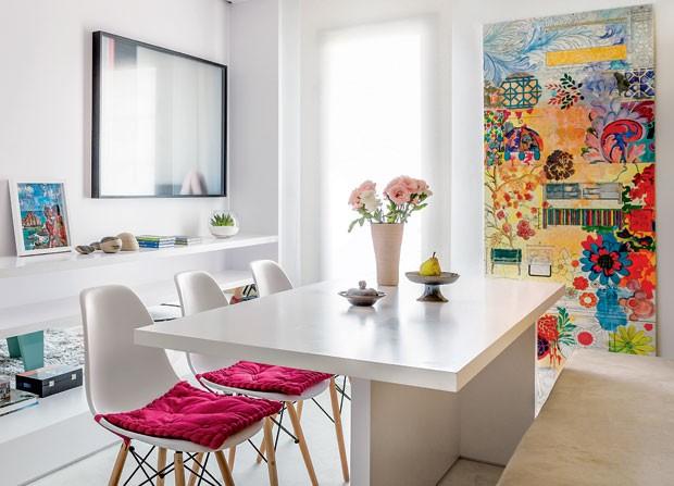 diseño decoracion sobre muebles blancos