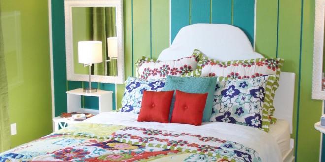 Dise o dormitorio juvenil mujer hoy lowcost for Decorar paredes dormitorio juvenil