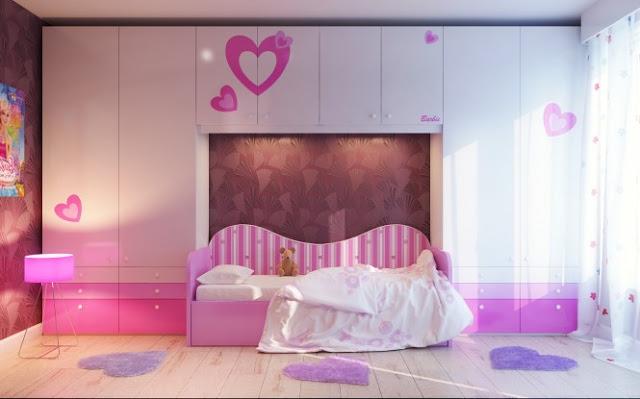 diseño dormitorio para niñas