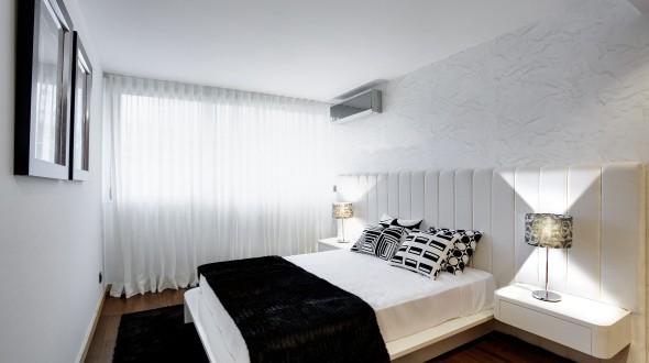 Dise o habitaciones matrimoniales peque as hoy lowcost for Diseno habitaciones pequenas