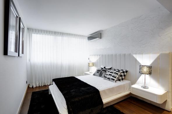 diseño habitaciones matrimoniales pequeñas