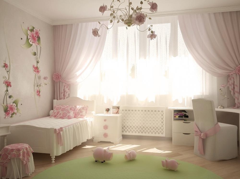 decoracion dormitorio para niña