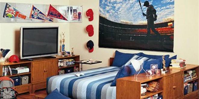 Dise o mi cuarto de hombre hoy lowcost - Diseno de interiores habitaciones juveniles ...