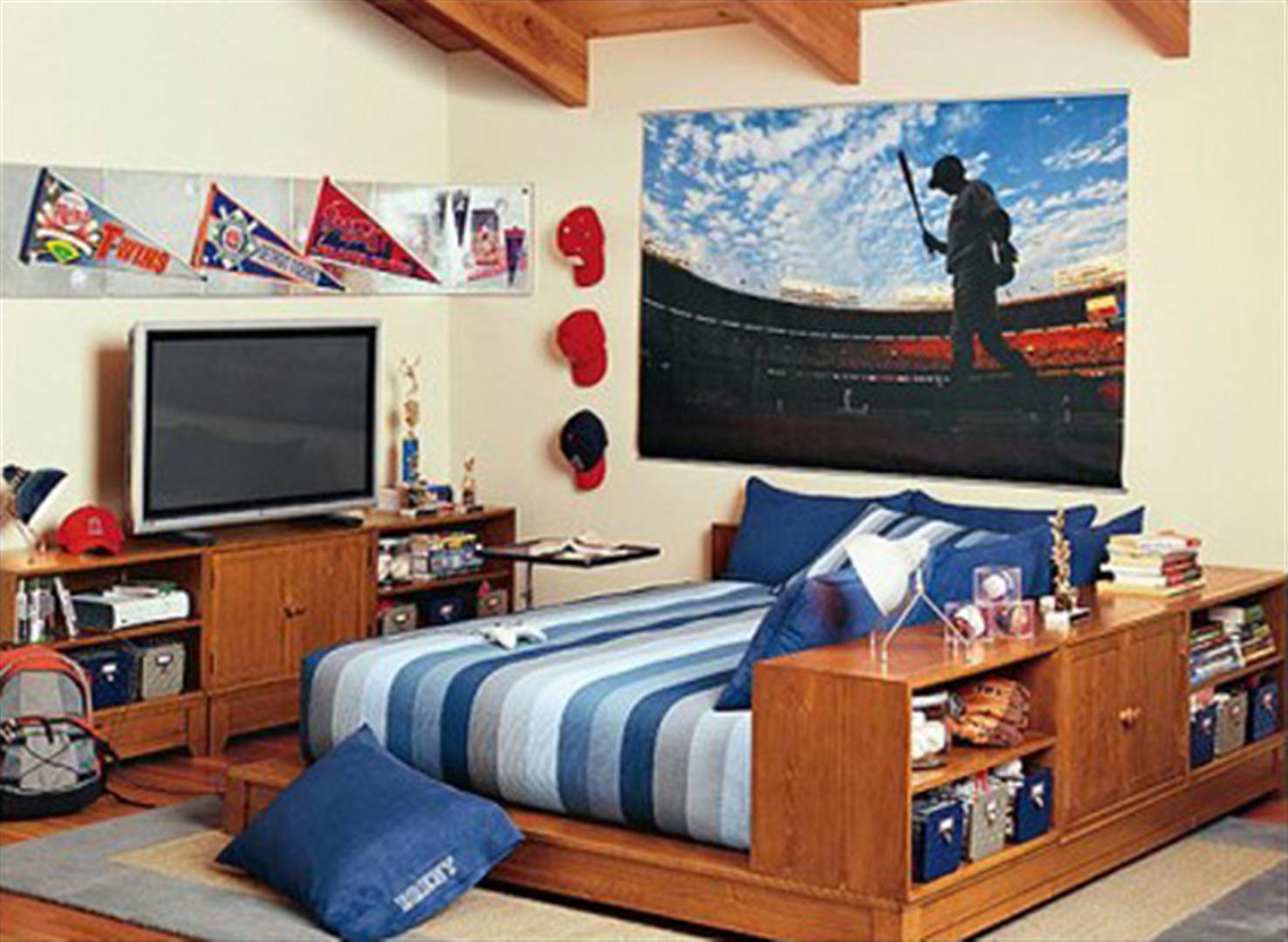 como decorar mi cuarto pequeo para hombre pues