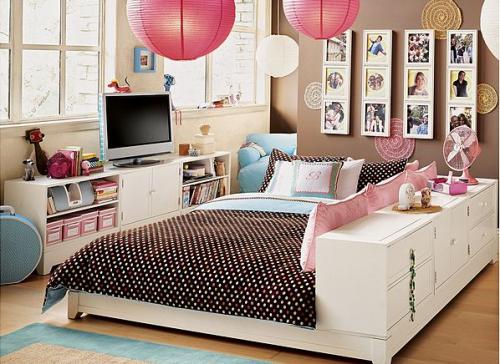 los dormitorios juveniles femeninos