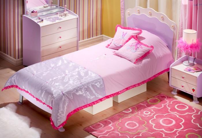 dormitorio de niña lowcost