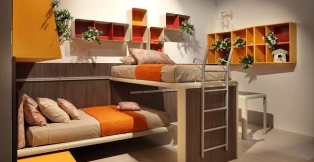 Dormitorio doble para ni os hoy lowcost - Dormitorios infantiles dobles ...