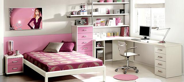 Como Decorar Mi Cuarto Ideas Creativas Hoy Lowcost - Como-decorar-un-cuarto-juvenil-femenino