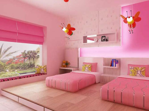 decoracion cuarto de niñas
