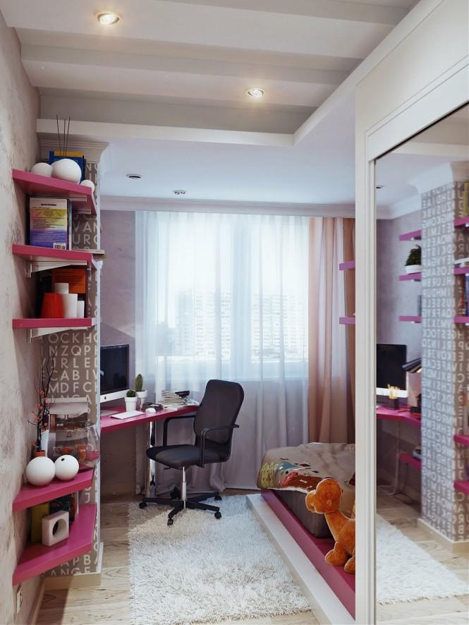 dormitorio jovencita diseño