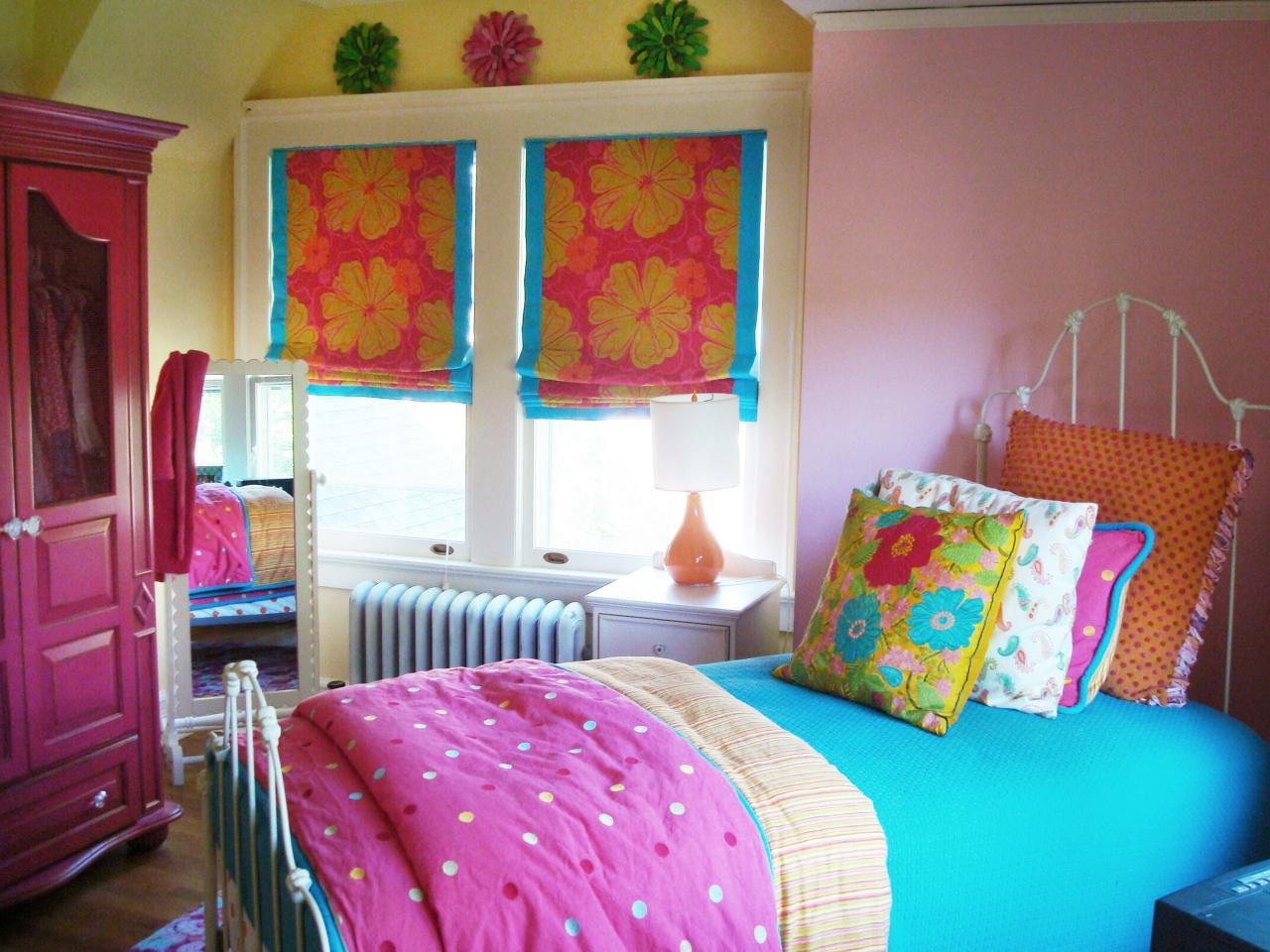 Decoraci n de dormitorios juveniles paso a paso hoy lowcost - Cortinas para habitacion juvenil ...
