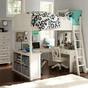 Como decorar el cuarto de una ni a 1001 ideas hoy lowcost for Amueblar dormitorio juvenil pequeno