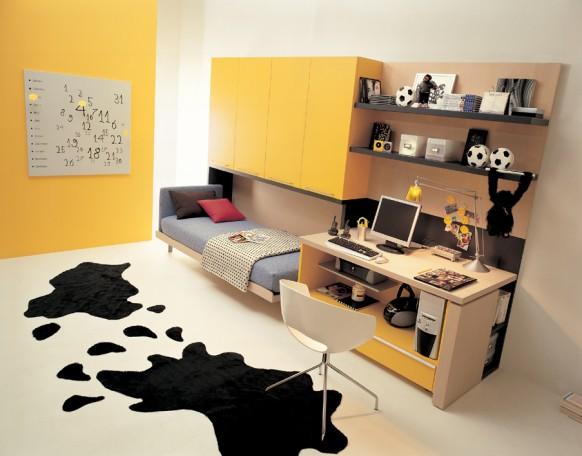 Camas abatibles dormitorios juveniles
