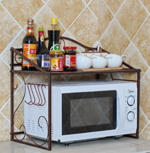 Estanteria microondas amazon hoy lowcost for Estanterias cocinas pequenas