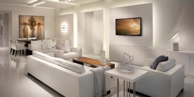 Estilo minimalista en blanco hoy lowcost for Cual es el estilo minimalista