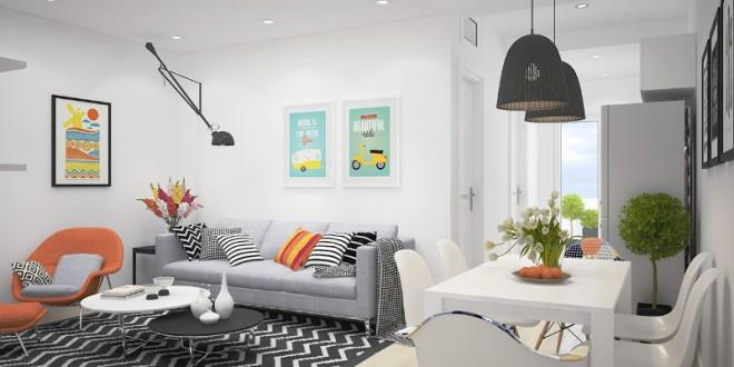 Cómo decorar una casa pequeña con poco dinero