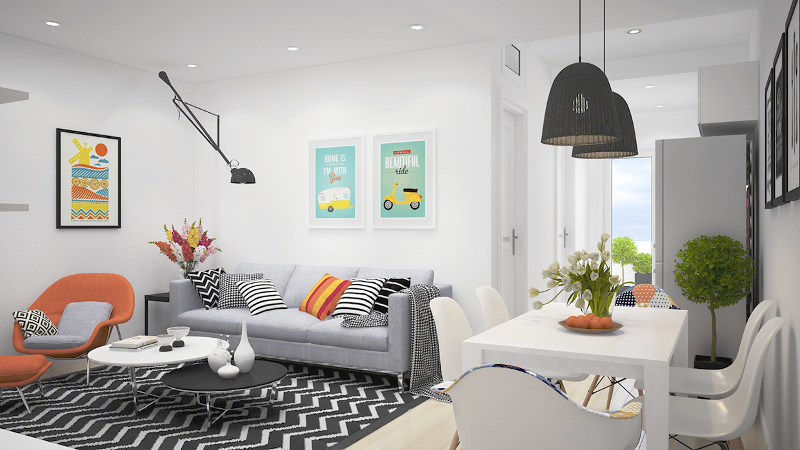 estilo moderno casas pequeñas