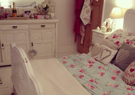 Estilo romantico decoracion hoy lowcost - Como decorar mi cuarto ...
