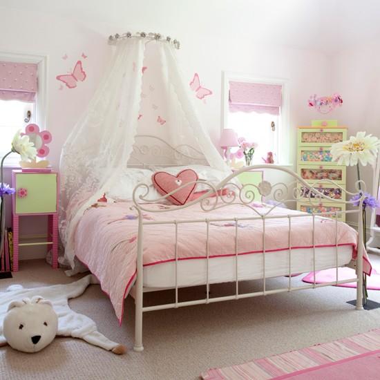 estilo romantico dormitorio niña