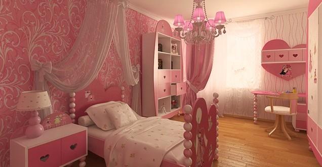 Estilo romantico para cuartos de ni as hoy lowcost for Decoracion de cuartos para 3 ninas