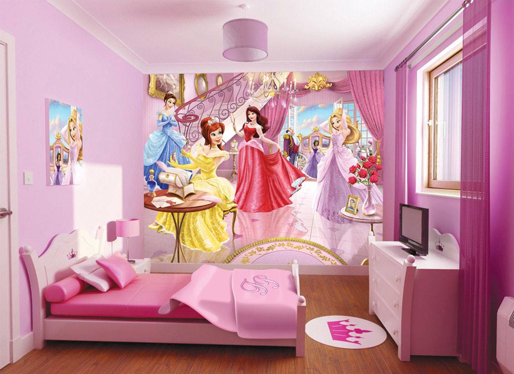 habitacion princesas disney
