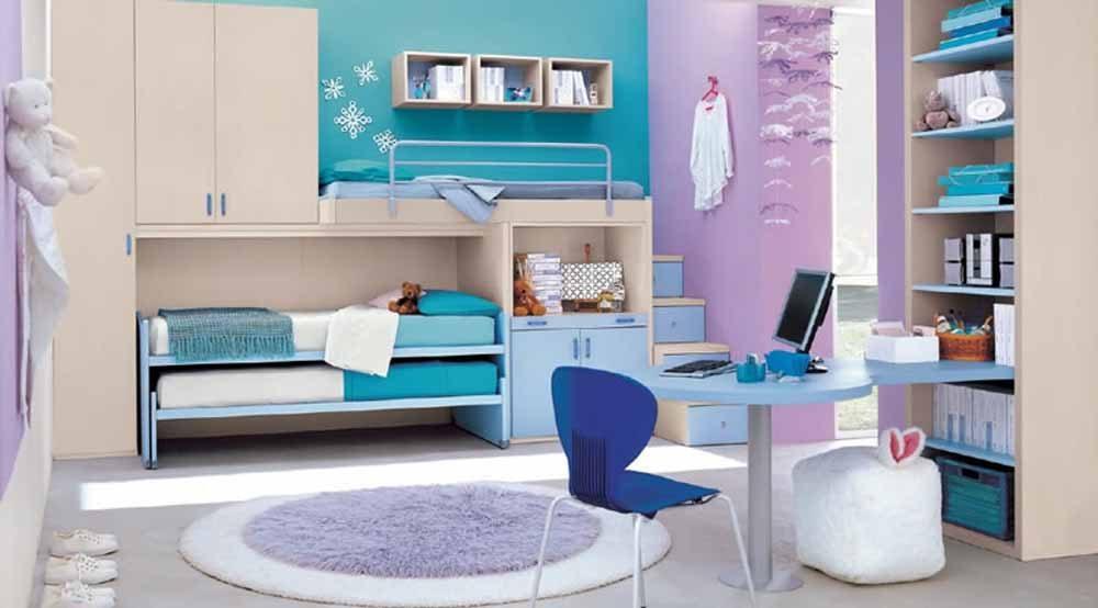Como decorar las habitaciones juveniles peque as 10 buenas ideas hoy lowcost - Dormitorios juveniles espacios pequenos ...