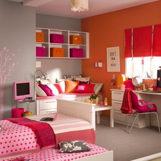 habitaciones niñas decoracion