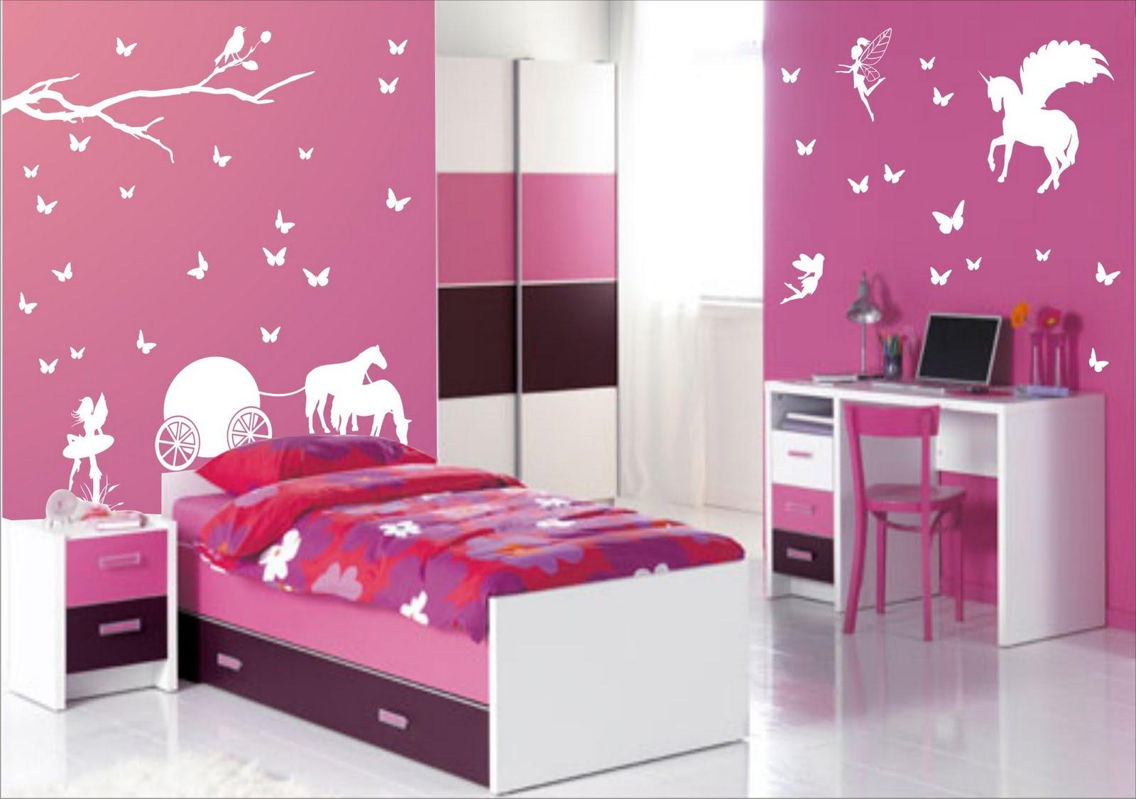 Como decorar el cuarto de una ni a 1001 ideas hoy lowcost - Habitaciones pequenas para ninas ...