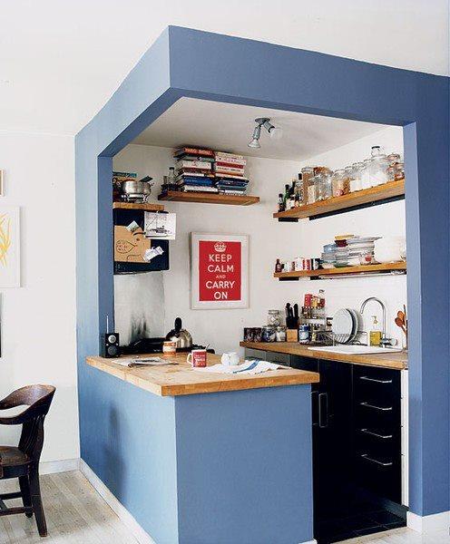 modelos sencillos cocinas modernas