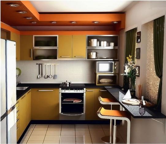 Cocinas modernas peque as estilos y dise os hoy lowcost for Modelos de cocinas chiquitas