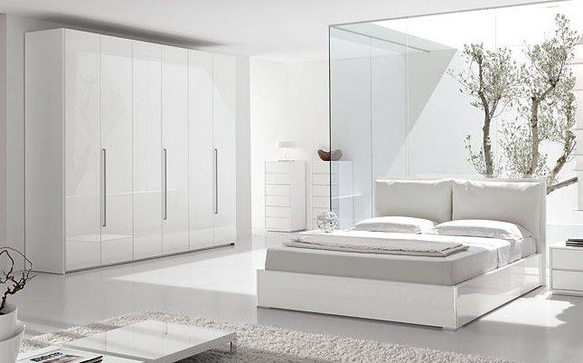 decoracion dormitorios blancos