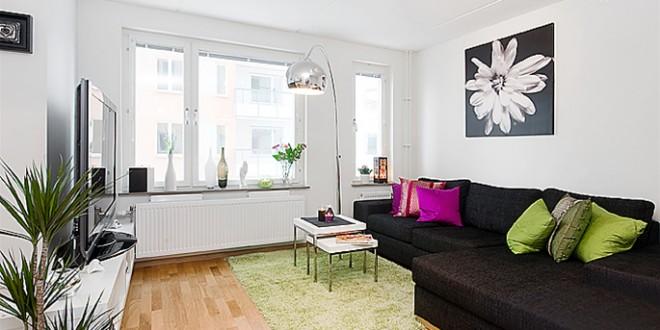 Muebles salon baratos para casas peque as hoy lowcost - Casas de muebles ...