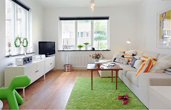 muebles salon blancos low cost
