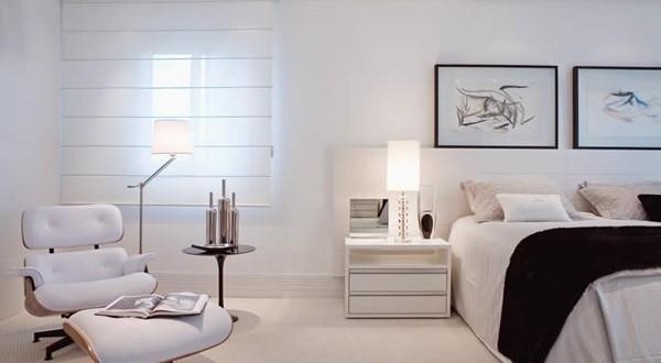 Paredes blancas en dormitorios matrimoniales hoy lowcost for Paredes dormitorios matrimonio