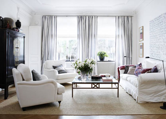 salon diseño blanco