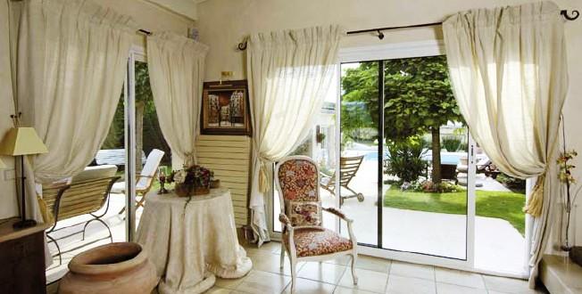 Cortinas dise o para salones copia hoy lowcost - Disenos de cortinas para salones ...
