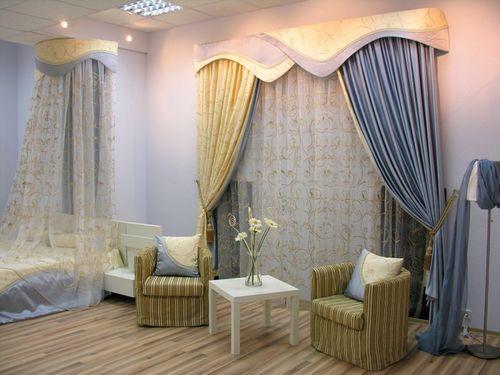 cortinas lujosas con bando