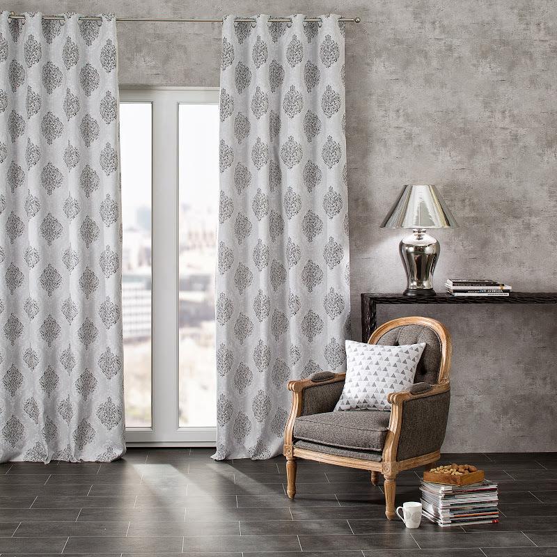 cortinas estampados geometricos
